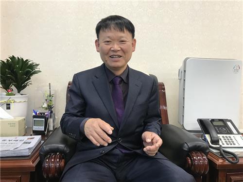 박승우 아산시 농업기술센터 소장