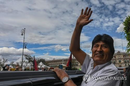 멕시코로 망명한 에보 모랄레스 전 볼리비아 대통령. [AFP=연합뉴스 자료사진]