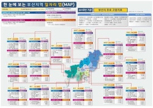 부산 일자리 지도