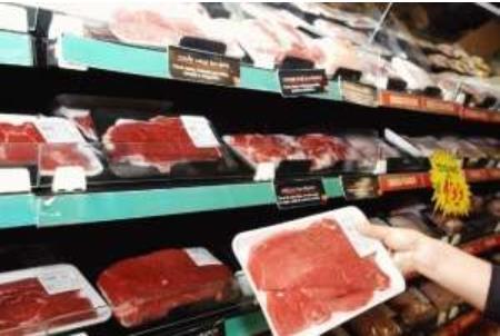 브라질 슈퍼마켓의 육류 매장 [국영 뉴스통신 아젠시아 브라질]