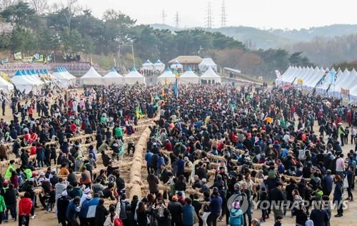 '코로나19 여파' 당진 기지시줄다리기 축제 무기한 연기 | 연합뉴스