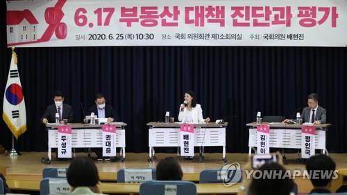 지난 25일 국회에서 열린 6·17 부동산대책 토론회 [연합뉴스 자료사진]