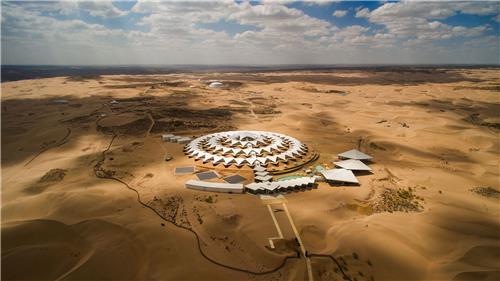 정동현 건축가가 설계한 중국 사막 호텔