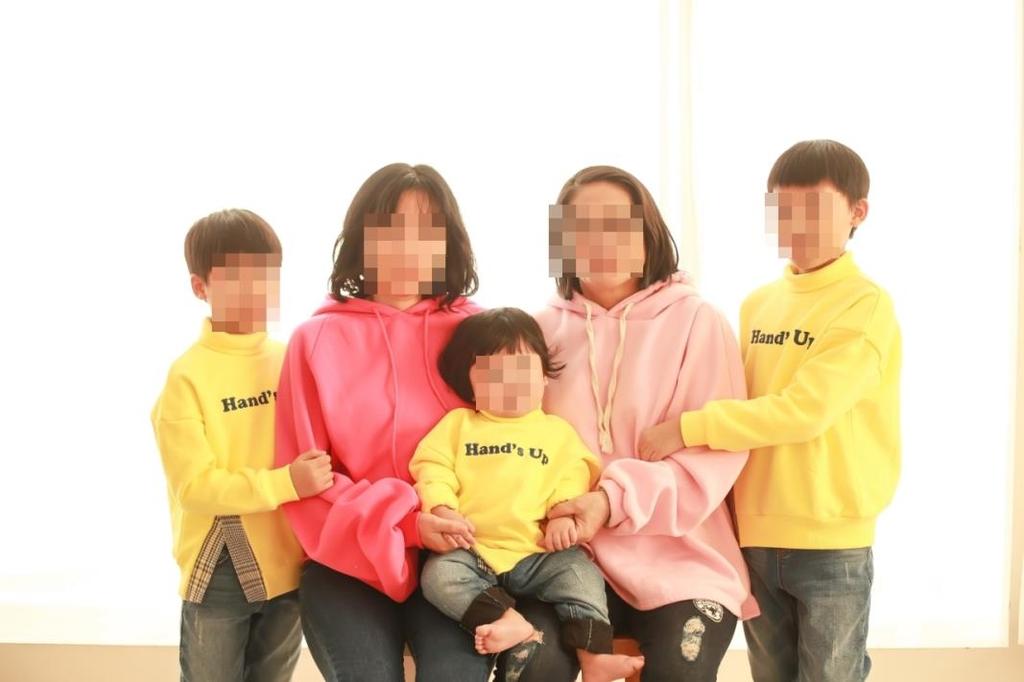 민주희(가명)씨 가족