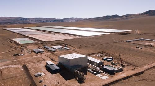 아르헨티나 리튬 데모플랜트 전경