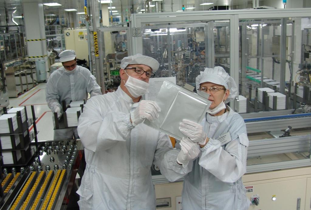 LG에너지솔루션 미국 미시간 전기차 배터리 공장 생산 라인