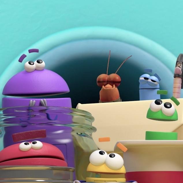 넷플릭스 학습 애니메이션 '스토리봇에게 물어보세요'