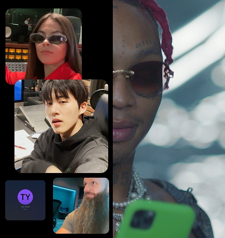 비아이, 협업 싱글 '갓 잇 라이크 댓'