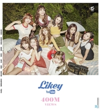'Likey' de TWICE supera la marca de 400 millones de visualizaciones en YouTube