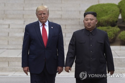 Trump warns N. Korea not to interfere with his reelection bid