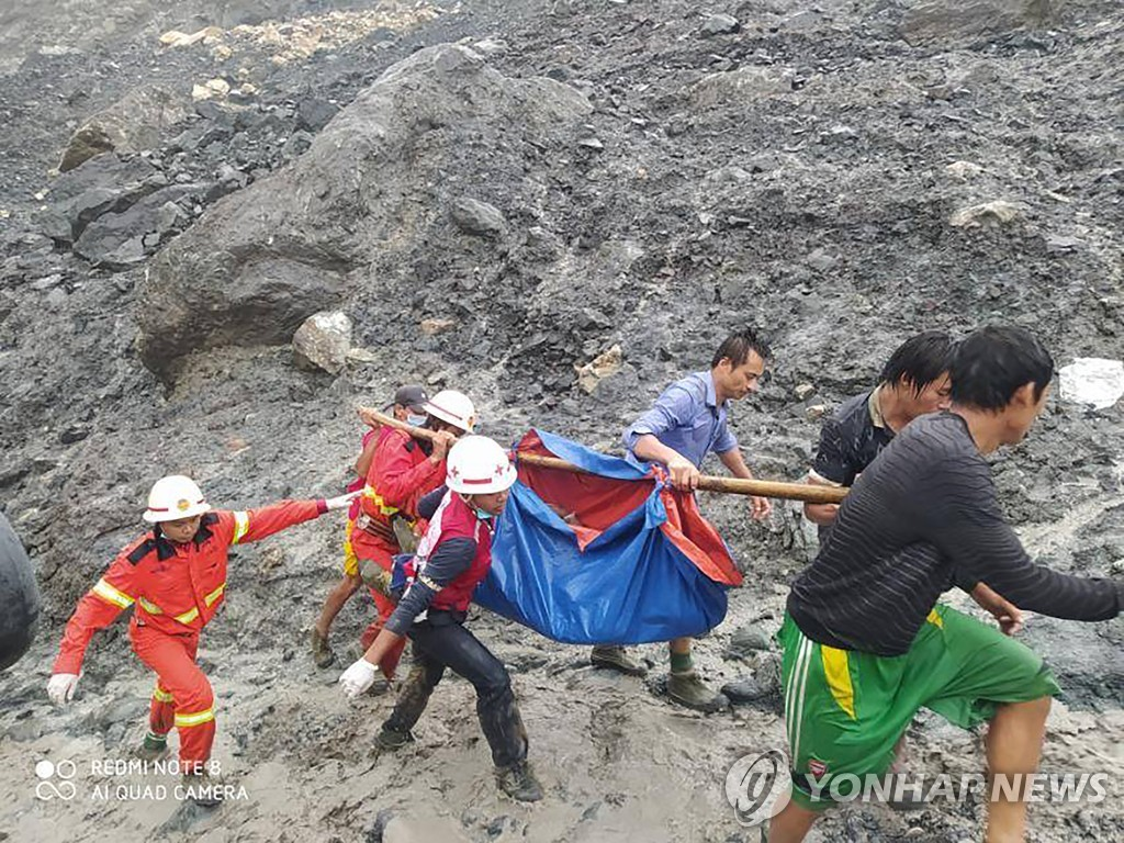 Myanmar Mining Accident