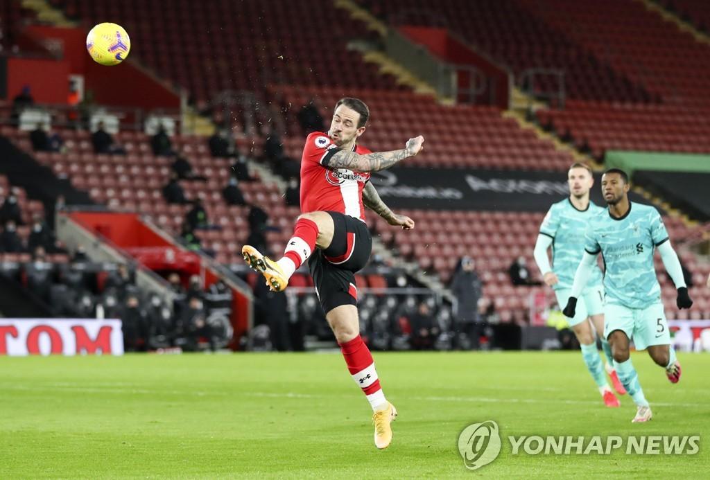 리버풀은 사우 샘프 턴에게 0-1로 패배 … 3 경기 무승부로 '위기'