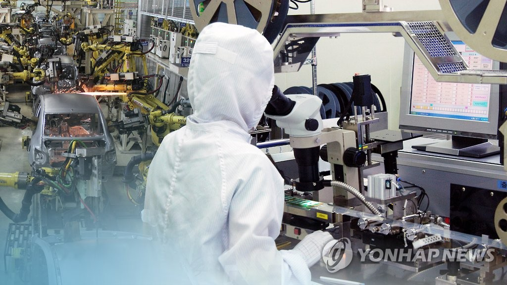 (2nd LD) Korea's industrial output dips most in 9 years in Feb. on virus fallout - 1