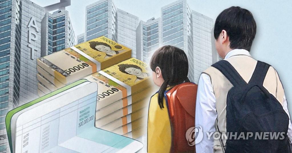 고액 10대 미성년자·금수저· 편법 증여 (PG)