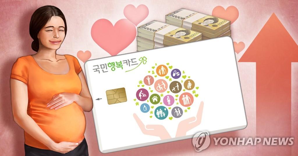 임산부 국민행복카드 사용기한·결제한도 증가 (PG)