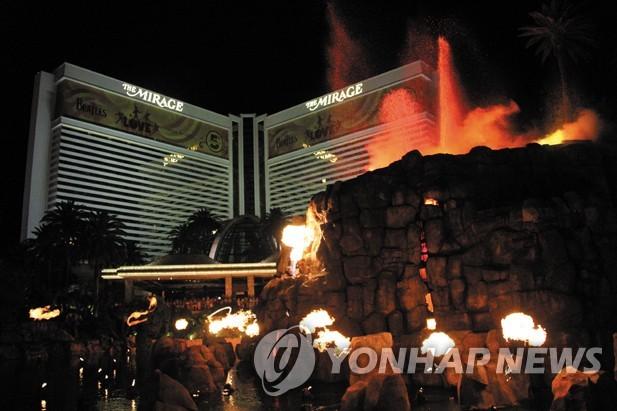 미라지 호텔 화산쇼
