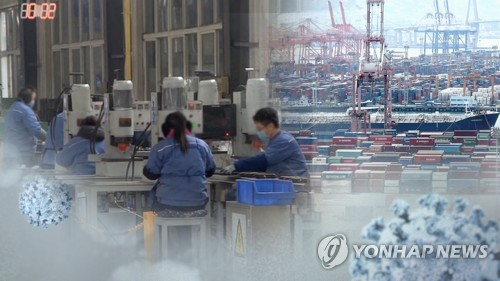 Korea's Jan. industrial output edges up, virus fallout in store to hit hard