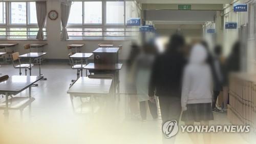 """고3, 예정대로 20일 등교…""""의심증상시 검사ㆍ귀가 지원"""" (CG)"""