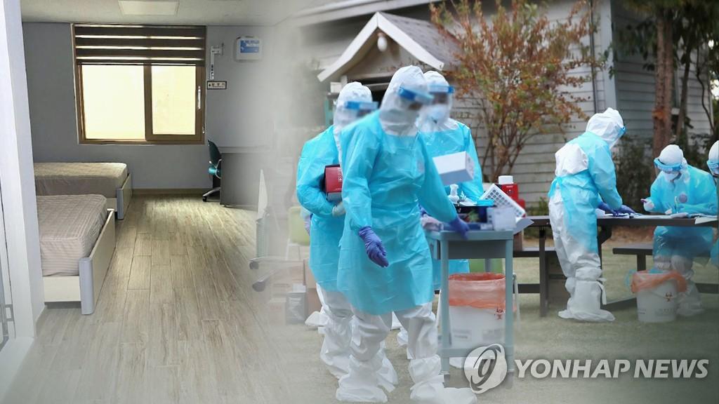 수도권 병상 수급 '비상'…생활치료센터 확충 (CG)
