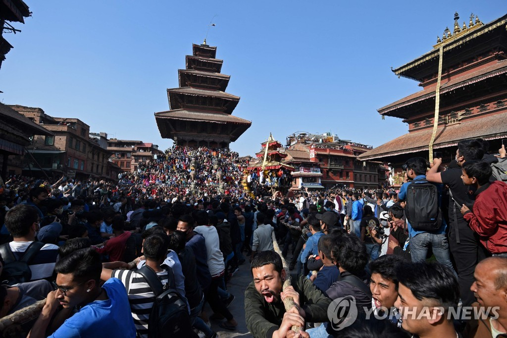 NEPAL-RELIGION-FESTIVAL-NEW YEAR