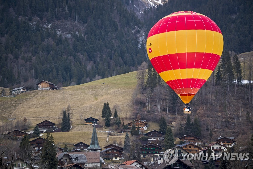 SWITZERLAND HOT AIR BALLON