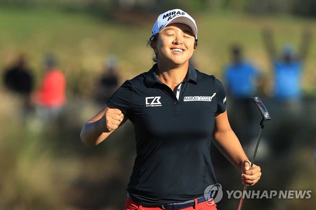 PHOTOS: The ladies behind South Koreas dominance of golf