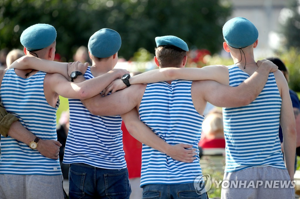 Paratrooper's Day celebrated in Moscow