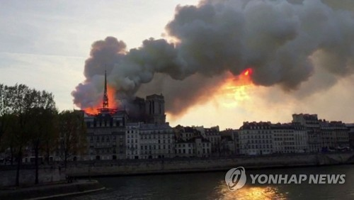 Image result for 노트르담 대성당 화재