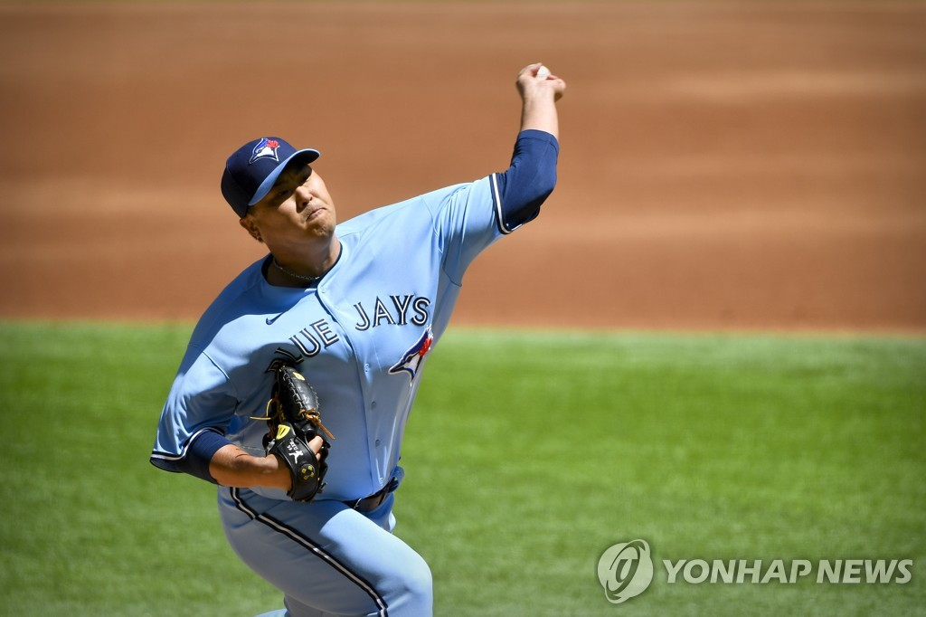 Despite tough loss, Blue Jays' Ryu Hyun-jin pleased with early-season performance