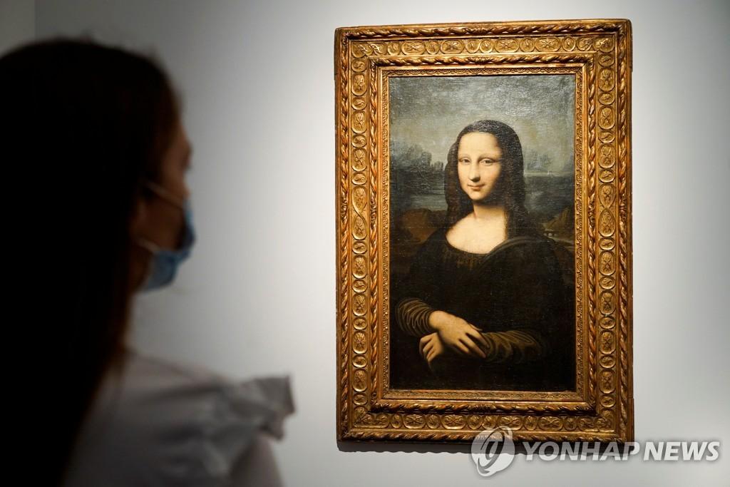 프랑스 루브르 박물관에 보관된 레오나르도 다빈치 작품 '모나리자' [로이터=연합뉴스 자료사진]
