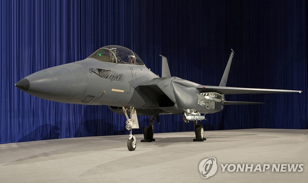 Boeing's F-15SE chosen as sole candidate for S. Korean fighters