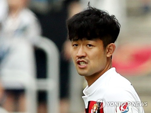 FC Seoul midfielder slapped with 15-game suspension, fine for DUI
