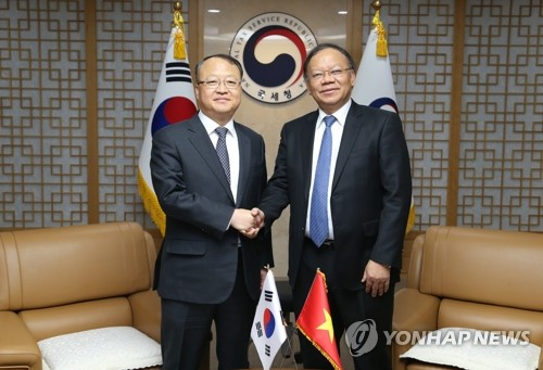 Korea-Vietnam tax chiefs' talks