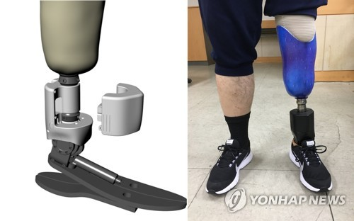 Smart artificial leg commercialized