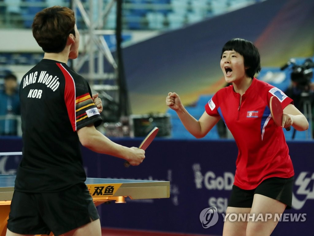 Unified team at ITTF World Tour