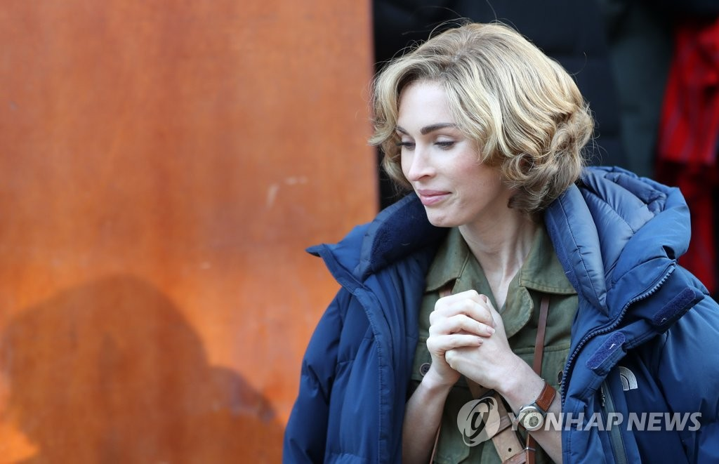 La actriz de Hollywood Megan Fox en Corea del Sur