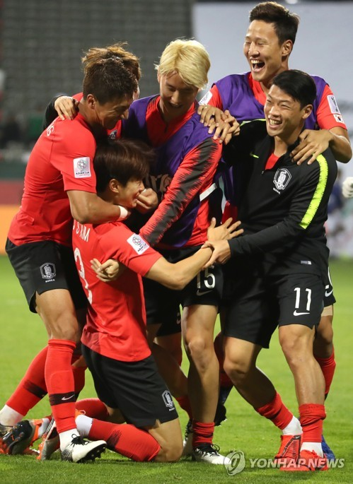 S. Korea advance to Asian Cup quarterfinals