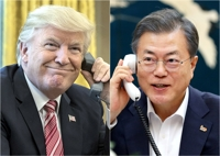 (3rd LD) Trump says he is in no rush to denuclearize N. Korea
