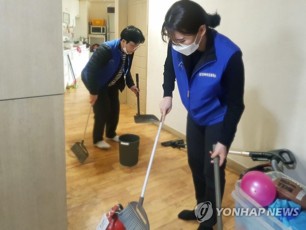 삼성바이오로직스, 신입사원 보육원 봉사활동 실시