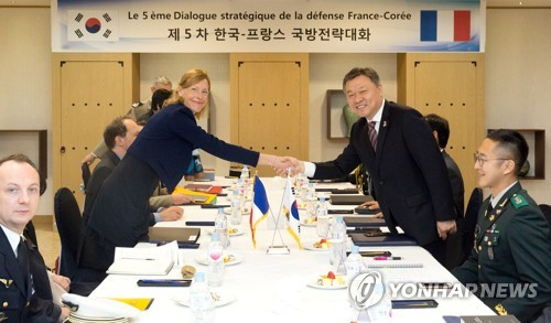 Korea-France defense dialogue