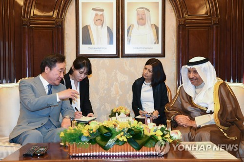 PM calls for S  Korean firms' participation in Kuwait