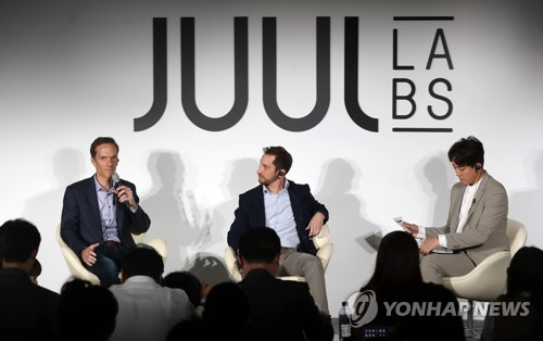 Juul e-cigarette released in S. Korea