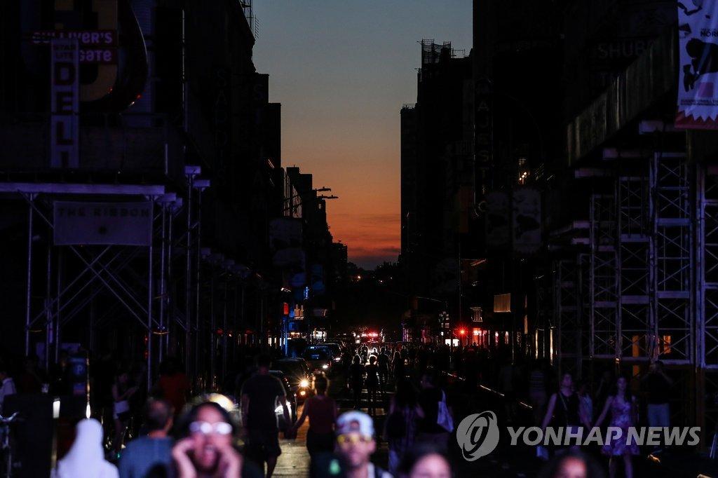 '맨해튼 정전' 발단은 고압 케이블…주변 전력망 '릴레이 단전' | 연합뉴스