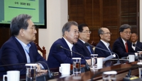 (2nd LD) Moon warns Japan will suffer more damage from export curbs against S. Korea