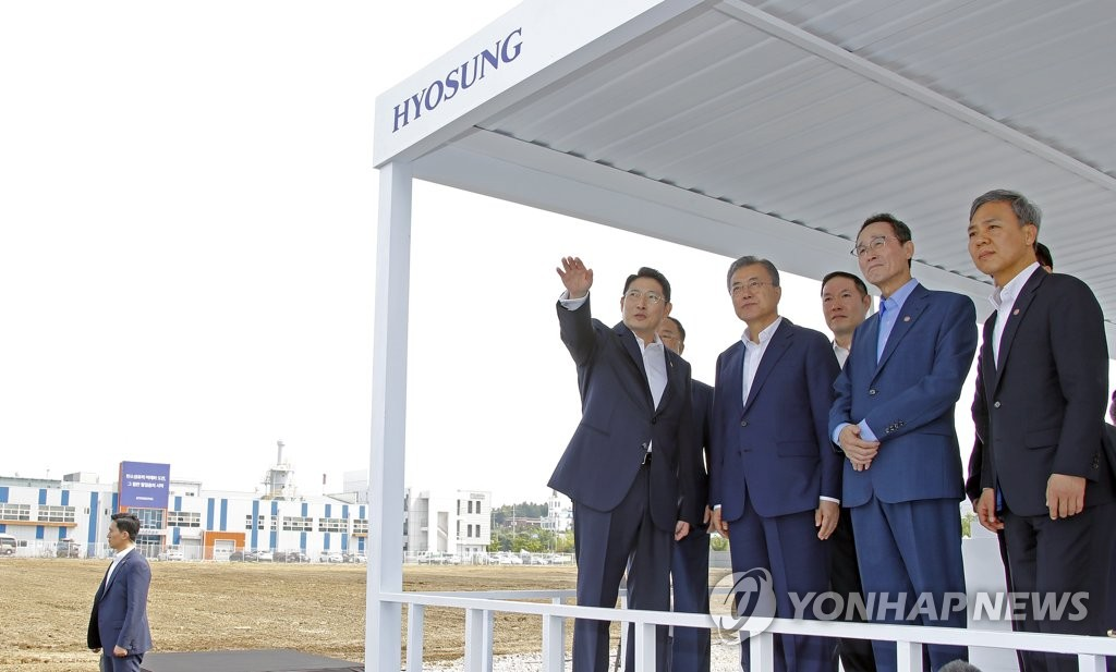 Moon Jae-in à Jeonju