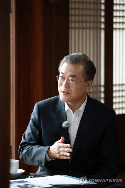President Moon on separated families