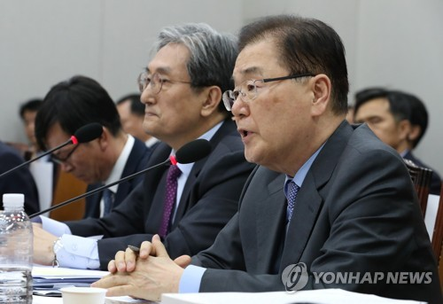 NSC reviews ways to create substantive progress in Korea peace process