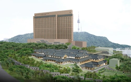 Hotel Shilla's hanok project approved by local authorities