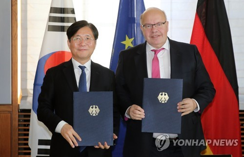 S. Korea-Germany cooperation pact
