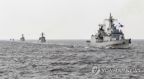 Chinese warships' activities up near Korean Peninsula: lawmaker